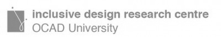 Inclusive Design Research Centre